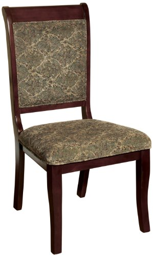 Antique Cherry Furniture (Furniture of America Bernette Transitional Style Side Chair, Antique Cherry Finish, Set of 2)