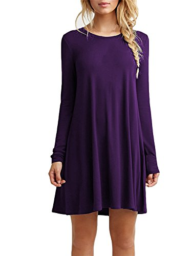 Purple Cotton Dress - 9