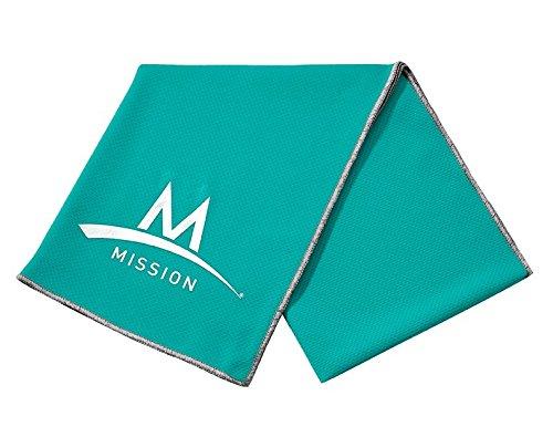 Mission Enduracool Techknit Cooling Towel  Large  Mint