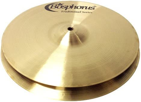 Bosphorus Cymbals T15HC 15-Inch Traditional Series Hihat Cymbals Pair [並行輸入品]