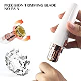 Rechargeable Eyebrow Trimmer & Facial Hair Remover