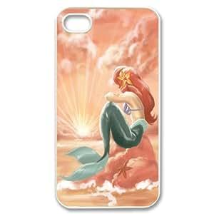 Custom Your Own Little Mermaid iPhone 4/4S Case , personalised Little Mermaid Iphone 4 Cover