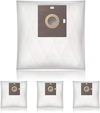Wessper® Dust bags for Samsung SC21F60JD vacuum cleaner (4 pieces, Synthetic)