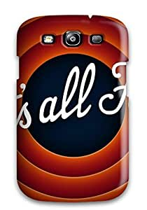 Galaxy Cover Case - Thats All Folks Protective Case Compatibel With Galaxy S3