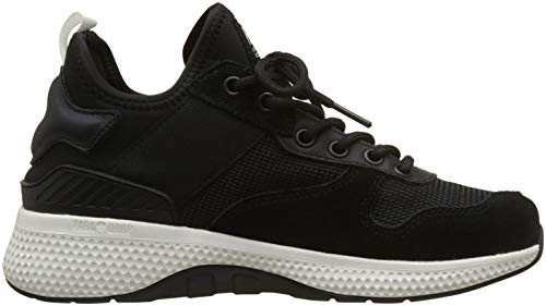 AX Black Palladium Noir Femme White Run eon Army 115 Baskets SqdqAB4w