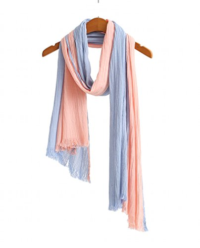 WS Natural Lightweight Scarves Two toned