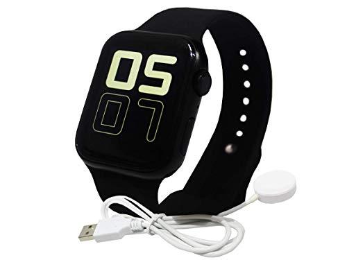 Relogio Smartwatch Inteligente Iwo 10 Multifunção 2 Pulseira (Preto)