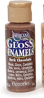 product image for DecoArt GLOSS ENAMEL PAINT DARK CHOCOLATE, Multicolor