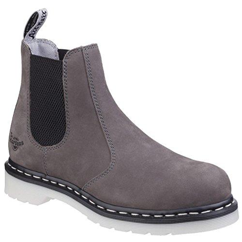 Dr. Martens Work Women's Arbor Steel Toe Chelsea Boot Grey 5 B UK