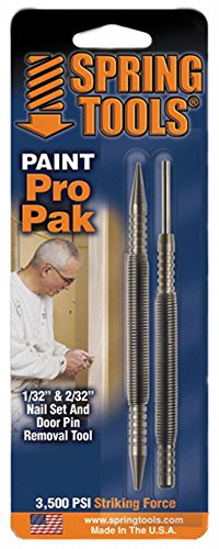 Spring Tools PM407 Paint Pro Pak Nail Set & Door Pin Remover by Spring Tools