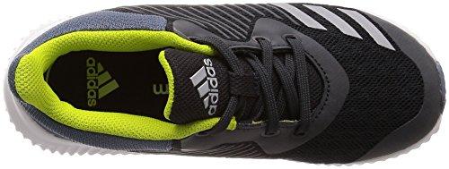 adidas Fortarun K, Zapatillas de Deporte Unisex Adulto Gris (Carbon/Plamet/Acenat 000)
