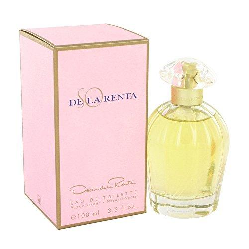 (FragranceX Oscar de la Renta So De La Renta 3.4 oz Eau De Toilette Spray For Women)