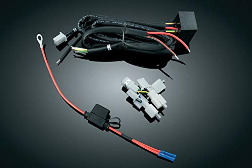 Kuryakyn 7673 Motorcycle Accessory: Plug & Play Trailer Wiring with Relay Harness for 2001-10 Honda Gold Wing GL1800 Motorcycles