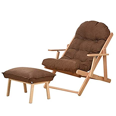 Amazon.com: Furniture - Taburete de sofá de madera plegable ...