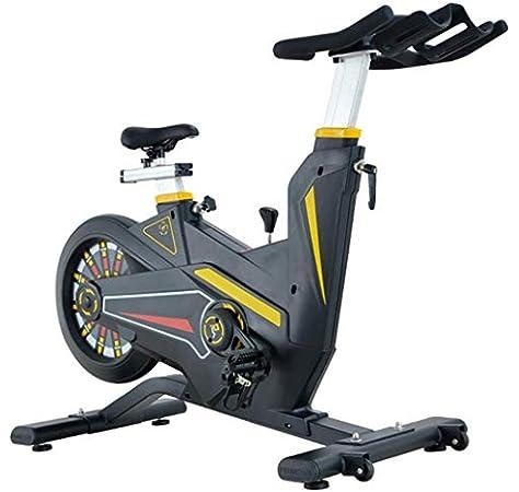LSYOA Bicicleta Estática, Magnético Bicicleta Spinning, Ajustable ...
