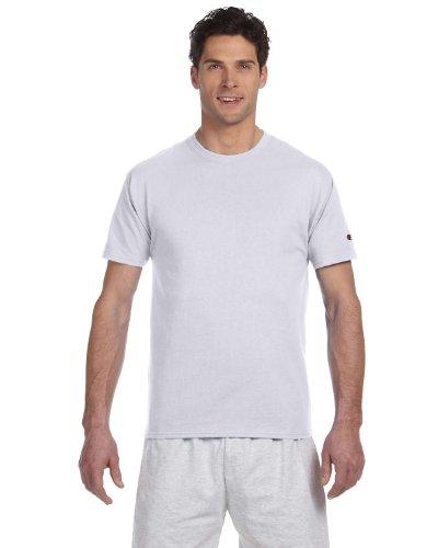 Champion T425 Adult Short-Sleeve T-Shirt Silbergrau