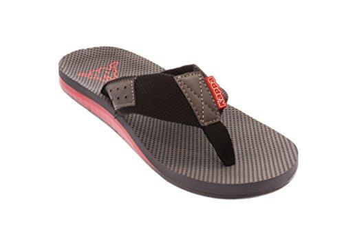 Hommes slip-on chaussure 1120°black/red noir, (1120°black/red) 242242 1