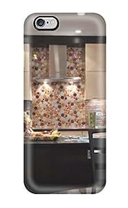 DebAA Fashion Protective Modern European Design Kitchen With Random Circle Pattern Backsplash Case Cover For Iphone 6 Plus