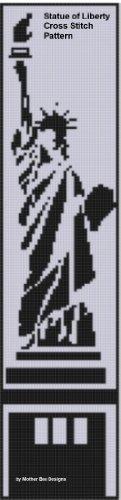 Statue of Liberty Cross Stitch Pattern