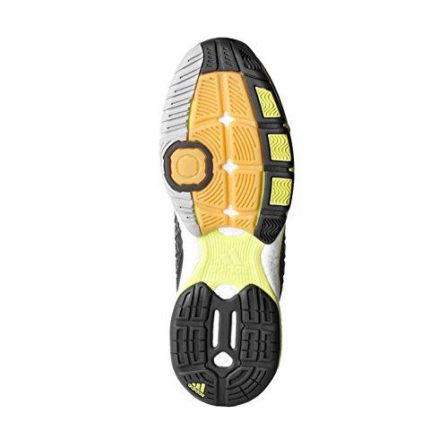 Scarpe Da Uomo Adidas Energy Boost Volley Grigio Scuro / Bianco / Giallo