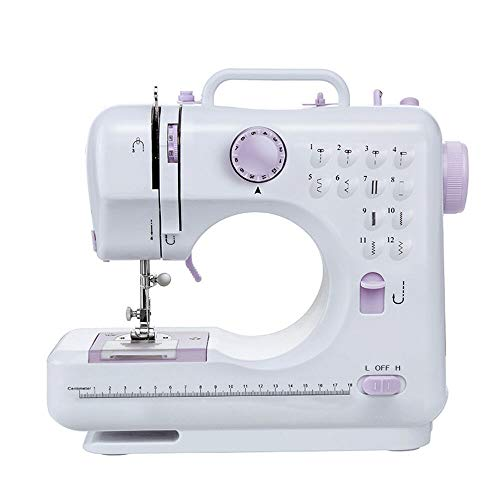 Portable Smart Mini Electric Tailor Stitch Hand-held Sewing Machine US Home T2A4