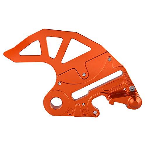 PRO CAKEN CNC Billet Rear Brake Disc Guard Caliper Support for 200 SX 350 SX-F 500 ()