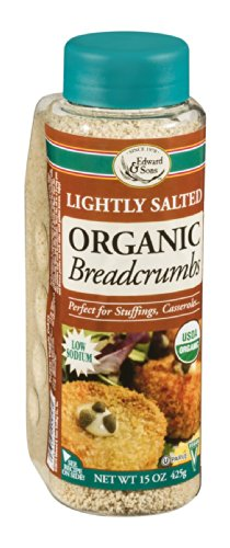 Edward & Sons Lightly Salted Breadcrumbs 15 oz. (Pack of 18)