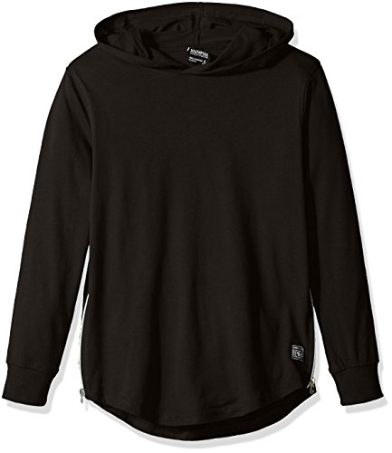 Southpole Sleeve Hooded Scallop Zippers