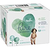 Pampers Pure Disposable Baby Diapers, Hypoallergenic and Fragrance Free Protection, Size 5, 66 Count, Giant