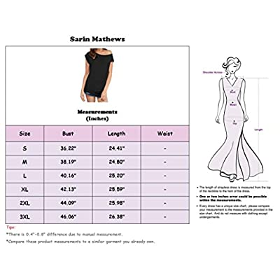 Sarin Mathews Women's Casual Off Shoulder Tops Short Sleeve T Shirts Lose Sexy Tank Tops Blouses at Women's Clothing store