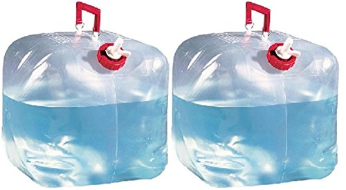 Reliance Pulls - Reliance (2) 5 Gallon Collapsible Water Containers Jugs 5000-13
