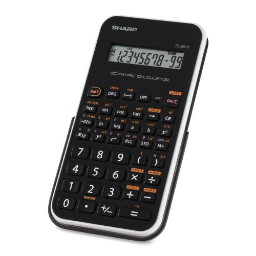 Sharp EL501XBWH Engineering/Scientific Calculator (Ti30xa Scientific Calculator)