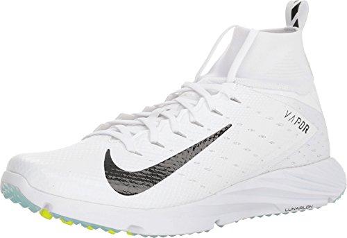Nike Vapor Untouchable Speed Turf 2 Mens 917169-100 Size 9 White/Black