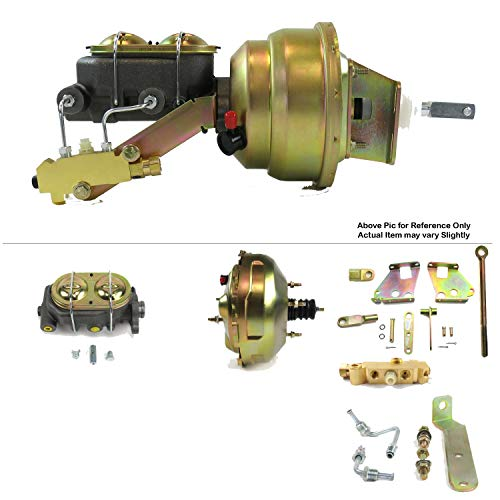 Helix Suspension Brakes and Steering HEXBBK7AE80 1967-72 Chevy P/U Truck FW Mount Power 11
