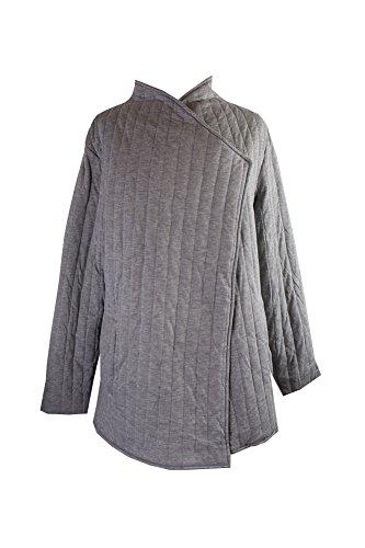 RACHEL Rachel Roy Women's Trendy Plus Size Quilted Jacket (1X, Heather Grey) by RACHEL Rachel Roy