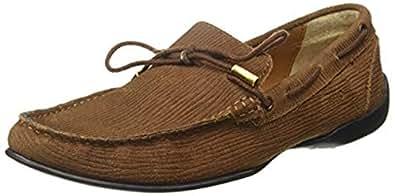 Ruosh Casual Men's Loafers & Moccasian 40 EU Shoes, Tan