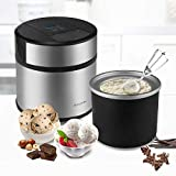 Flexzion Ice Cream Maker Frozen Yogurt Sorbet