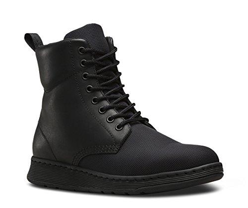 Dr. Martens Mens Rigal Cdr Mono 8-Eye Boots Black 6oYofJM