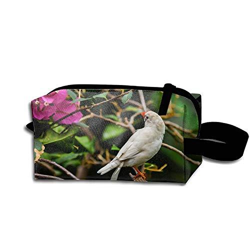scakoko Travel Toiletry Pouch Animal Finch Birds Makeup Organizer Clutch Bag with Zipper
