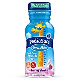 PediaSure Grow & Gain Nutrition Shake For Kids, Berry, 8 fl oz (Pack of 24)