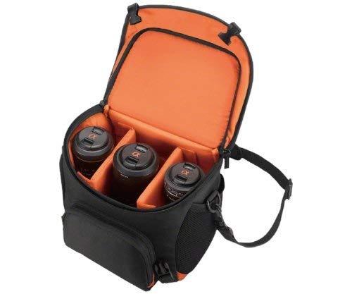 Sony LCSSC8 Lightweight System Case for Alpha DSLR Camera and Lenses - Black