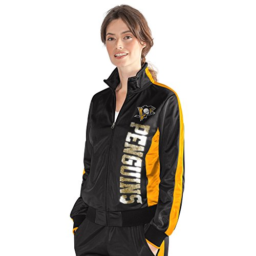 Jacket Drop For Her Back GIII Track Women's Black dYnqw4t