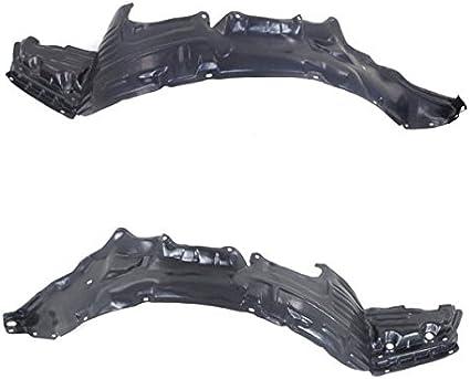 2001-01 IS300 Front Splash Shield Inner Fender Liner Panel Left /& Right SET PAIR
