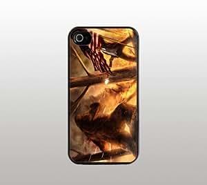 Interesting President Roosevelt Snap-On Case for Apple iPhone 4 4s - Hard Plastic - Black - Cool Custom Cover - creative design
