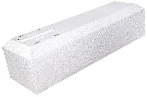 棺 布棺 ホワイト 折りたたみ式 布団付 直葬 家族葬 適 B00IZ2G5SG
