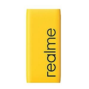 realme 10000mAh 12W Quick Charge Li-Polymer Power Bank 2i (Yellow, Slim Design, Dual Input Ports)