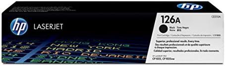 HP 126A (CE310A) Original LaserJet  Cartucho original de tóner de impresión, negro