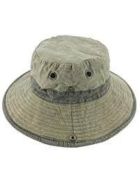 Ledamon Men's Sun Hat Fisherman Hat Outdoor Uv Protection Fishing Bucket Hat
