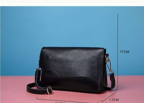 Negro Casual Señoras Black Moda Satchel GWQGZ wE7aqdIxI