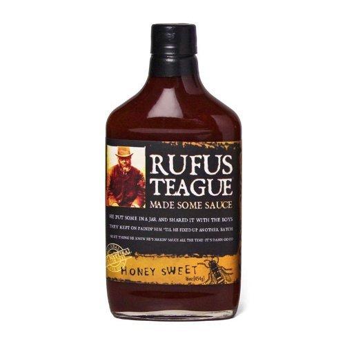 Rufus Teague Honey Sweet Bbq Sauce 12x 16OZ